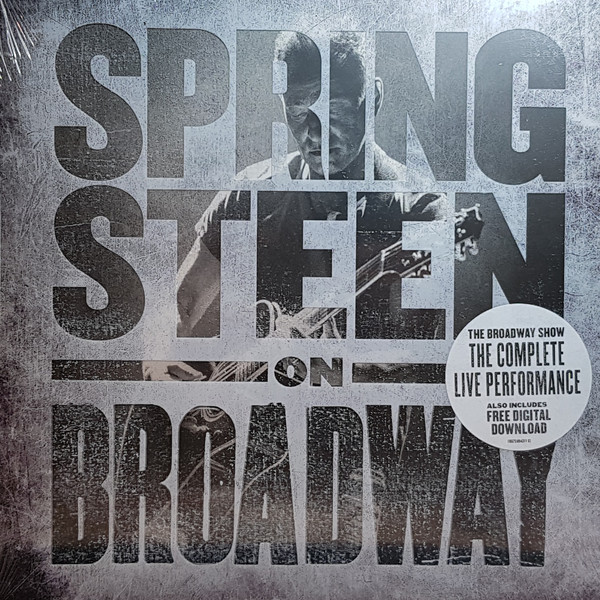 BRUCE SPRINGSTEEN - Springsteen On Broadway - 4 LP