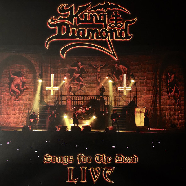 KING DIAMOND - Songs For The Dead Live - 2LP
