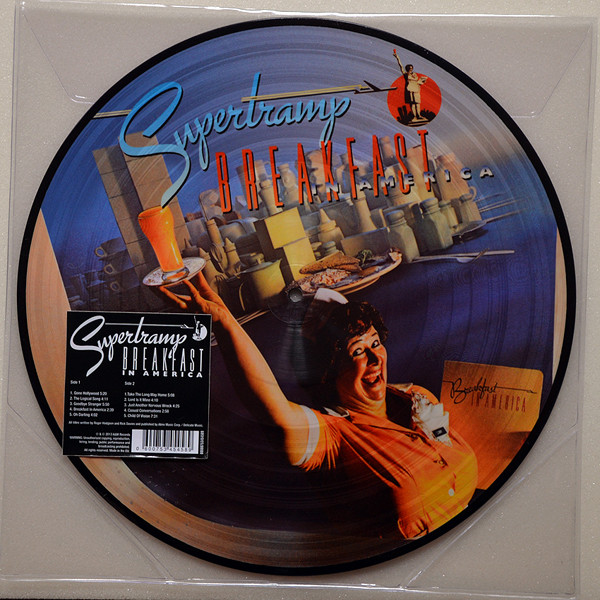 SUPERTRAMP - Breakfast In America - Picture LP