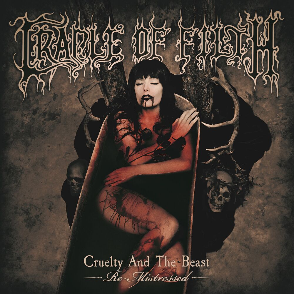 CRADLE OF FILTH - Cruelty And The Beast - Re-Mistressed - 2LP - Rød Vinyl