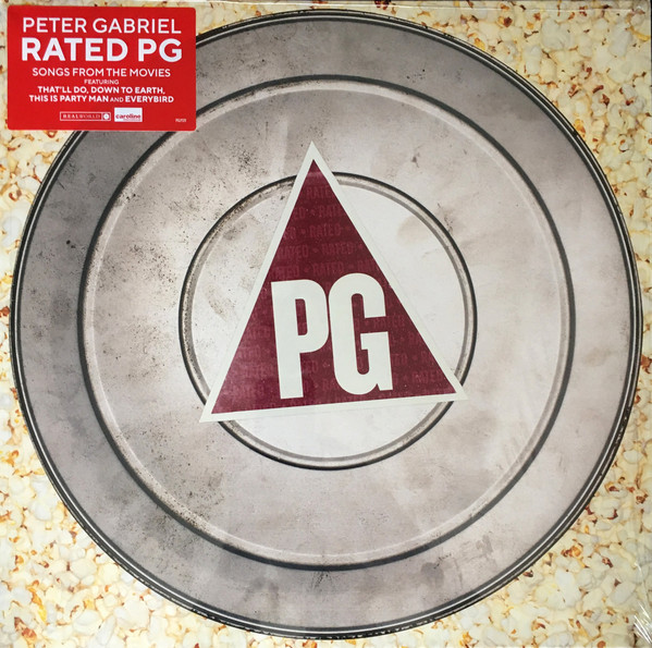 PETER GABRIEL - Rated PG - Soundtrack