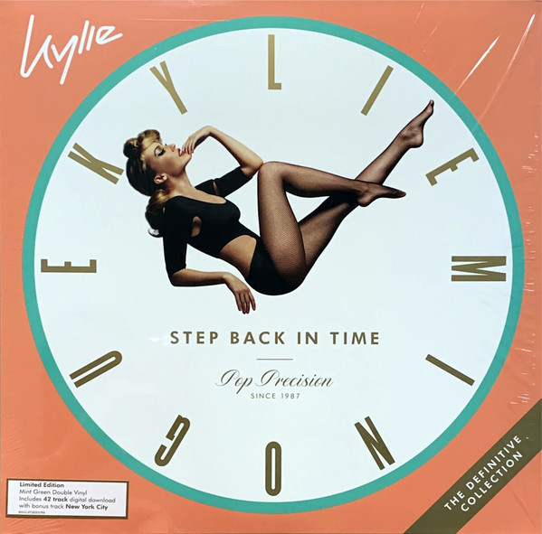 KYLIE MINOGUE - Step Back In Time (The Definitive Collection) - 2 LP