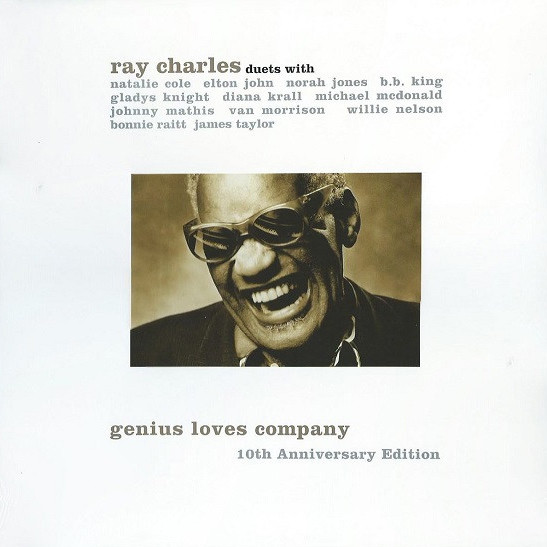 RAY CHARLES - Genius Loves Company 10th Anniversary Edition - 2 LP