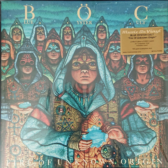 BLUE ÖYSTER CULT - Fire of Unkown Origin - Farvet Vinyl