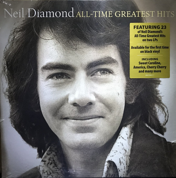 NEIL DIAMOND - All-Time Greatest Hits - 2LP