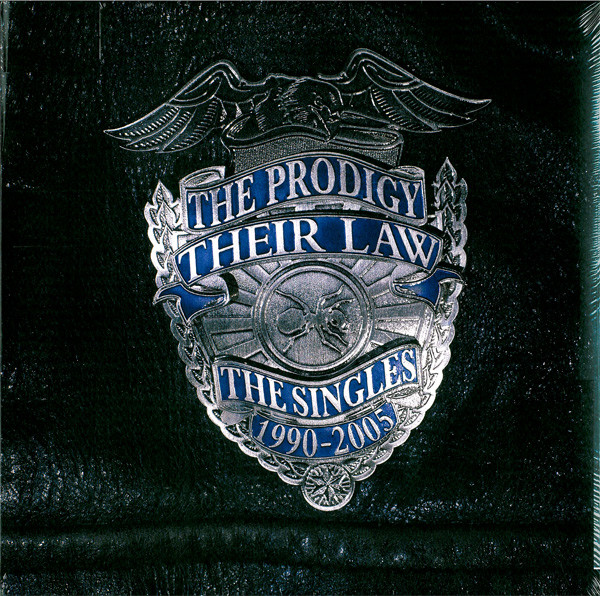 THE PRODIGY - Their Law - The Singles 1990-2005 2LP