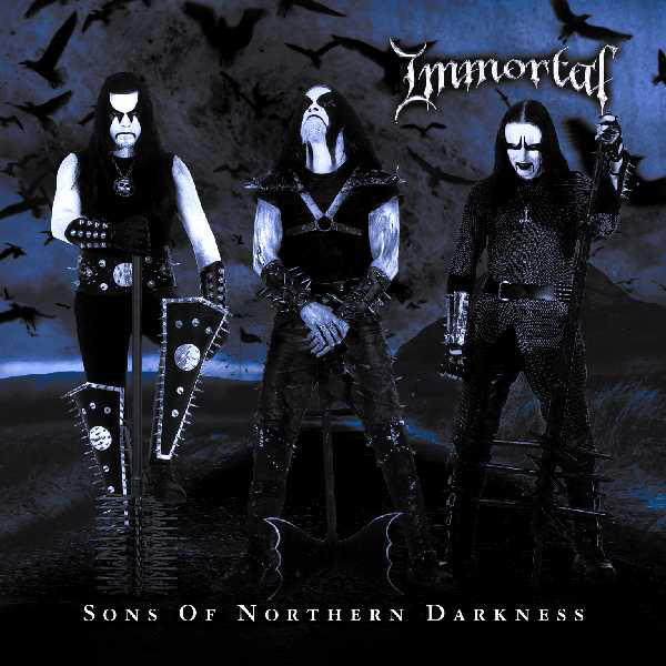 IMMORTAL - Sons of Northern Darkness 2LP