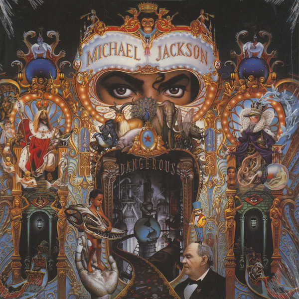 MICHAEL JACKSON - Dangerous 2LP