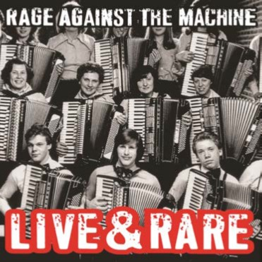 RAGE AGAINST THE MACHINE - Live & Rare 2LP